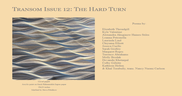 Transom Issue 12
